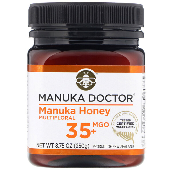 Manuka Doctor, Manuka Honey Multifloral, MGO 35+, 8.75 oz (250 g)