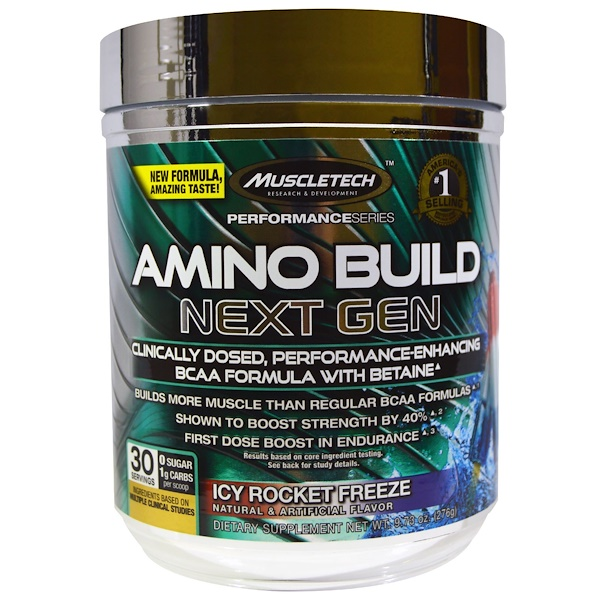 Muscletech amino build next gen bcaa formula with betaine for Freezing fish oil