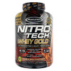 Muscletech, Nitro Tech, 全 Whey Gold, Whey Protein Powder, Double Rich Chocolate, 5.53 lbs (2.51 kg)