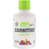 MusclePharm, Essentials, Liquid Carnitine, Fruit Punch, 1000 mg, 15.5 fl oz (458.8 ml)