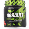 MusclePharm, 攻击能量 + 力量,健身前,水果潘趣酒味,0.76 磅(345 克)