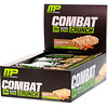 MusclePharm, Combat Crunch,肉桂味,12条,每条63克