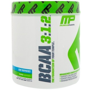 MusclePharm, BCAA 3:1:2,蓝莓,0.5磅(225克)