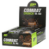 MusclePharm, Combat Crunch Protein Bars, Chocolate Peanut Butter Cup, 12 Bars, 2.22 oz (63 g) Each