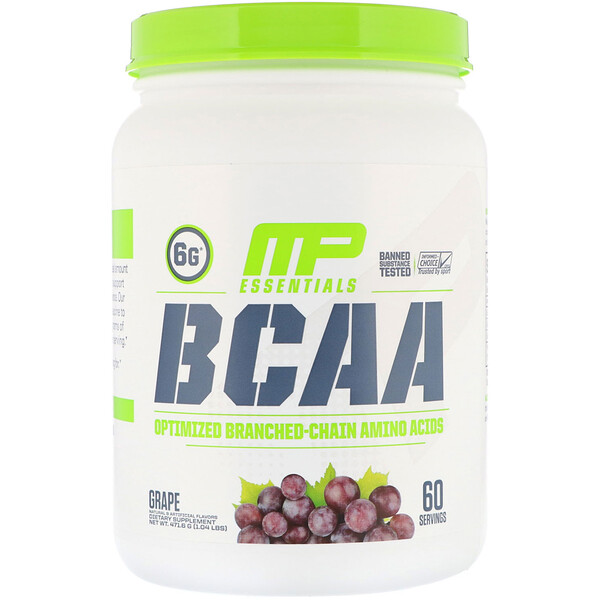 BCAA Essentials, Grape, 1.04 lb (471.6 g)
