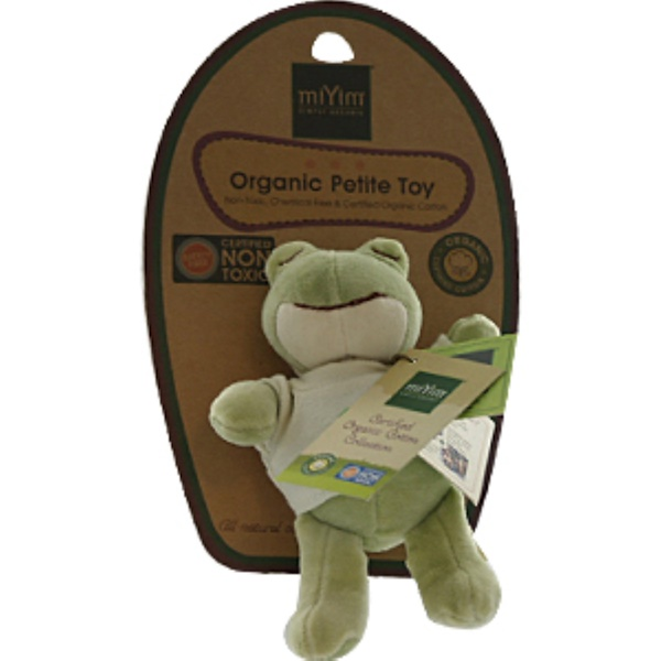 Greenpoint Brands, Petite Toy, Frog, 1 Toy (Discontinued Item)