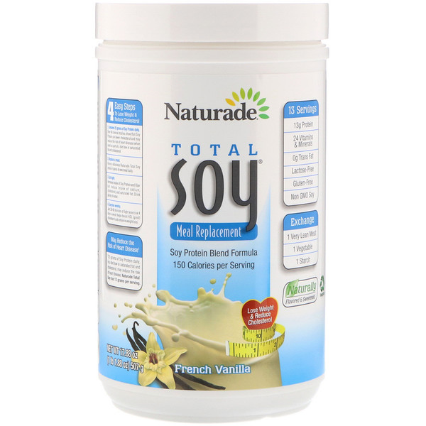 Total Soy Meal Replacement, French Vanilla, 17.88 oz (507 g)