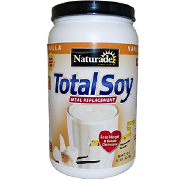Naturade, Total Soy, Meal Replacement, Vanilla, 27.50 oz (780 g) (Discontinued Item)