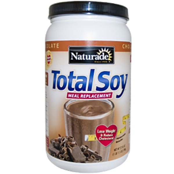 Naturade, Total Soy Meal Replacement, Chocolate, 27.50 oz (780 g) (Discontinued Item)