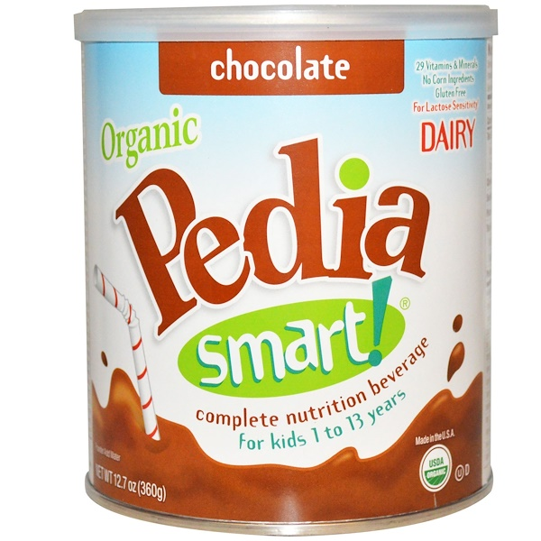 Nature's One, Pedia Smart!, Complete Nutrition Beverage, Chocolate, 12.7 oz (360 g) (Discontinued Item)