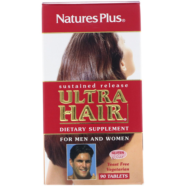 Nature's Plus, Ultra Hair促进片,90片