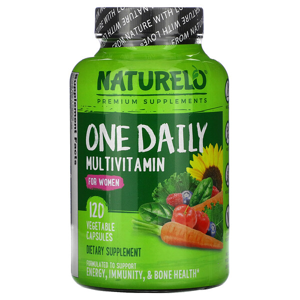 One Daily Multivitamin for Women, 120 Vegetable Capsules