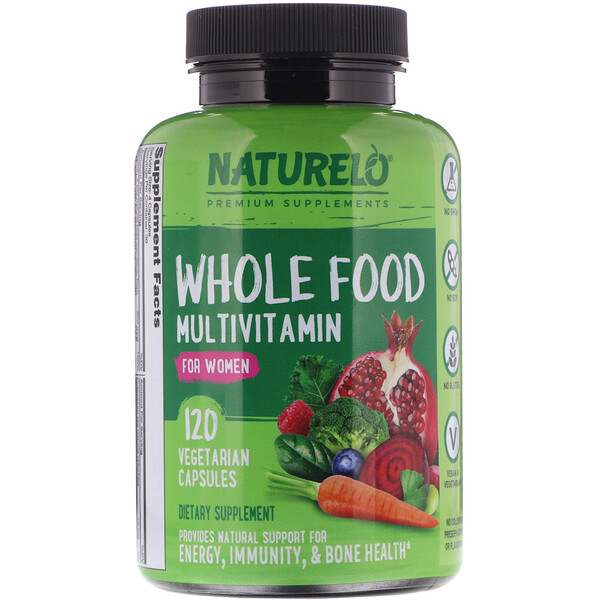Whole Food Multivitamin for Women, 120 Vegetarian Capsules