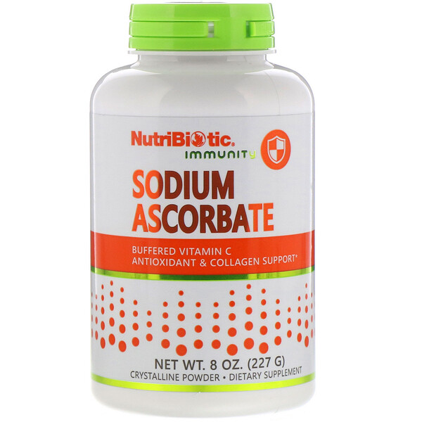 NutriBiotic, Immunity, Sodium Ascorbate, Crystalline Powder, 8 oz (227 g)
