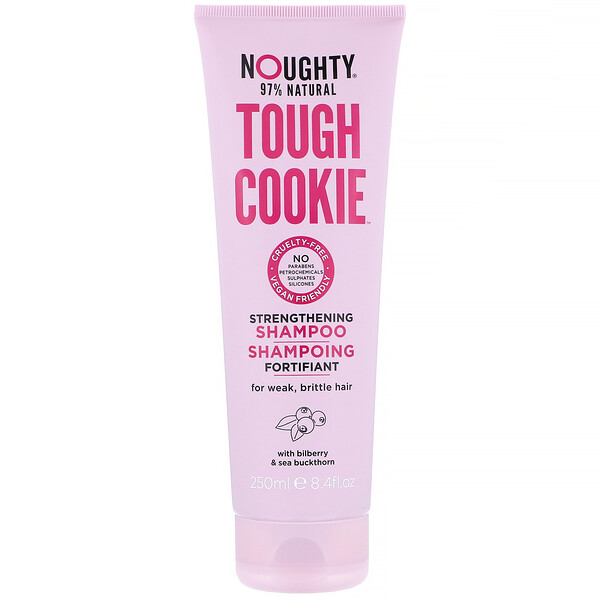 Noughty, Tough Cookie, Strengthening Shampoo, For Weak, Brittle Hair, 8.4 fl oz (250 ml)