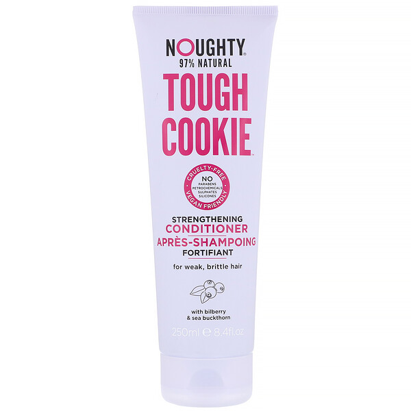 Noughty, Tough Cookie, Strengthening Conditioner, For Weak, Brittle Hair, 8.4 fl oz (250 ml)
