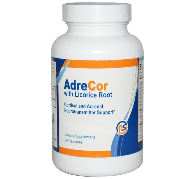 NeuroScience, AdreCor甘草根, 90粒 胶囊 (Discontinued Item)