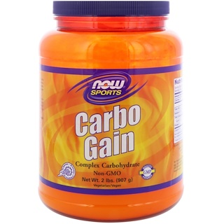 Now Foods, 运动, Carbo Gain, 2 lbs (907 g)