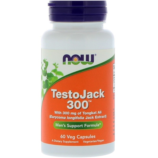 Now Foods, TestoJack 300 素食胶囊,60 粒装