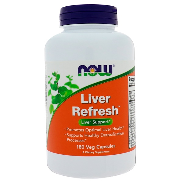 Now Foods, Liver Refresh,180粒素食胶囊