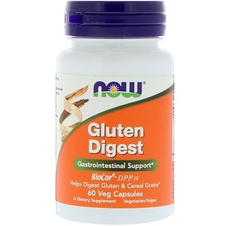 Now Foods, Gluten Digest,60 粒胶囊