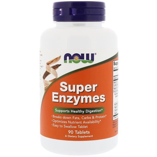 Now Foods, Super Enzymes, 90 片