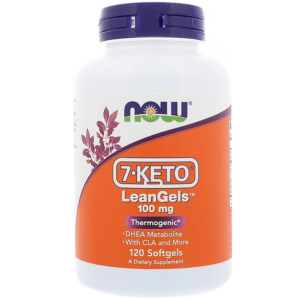 Now Foods, 7-Keto LeanGels,100毫克,120粒软胶囊