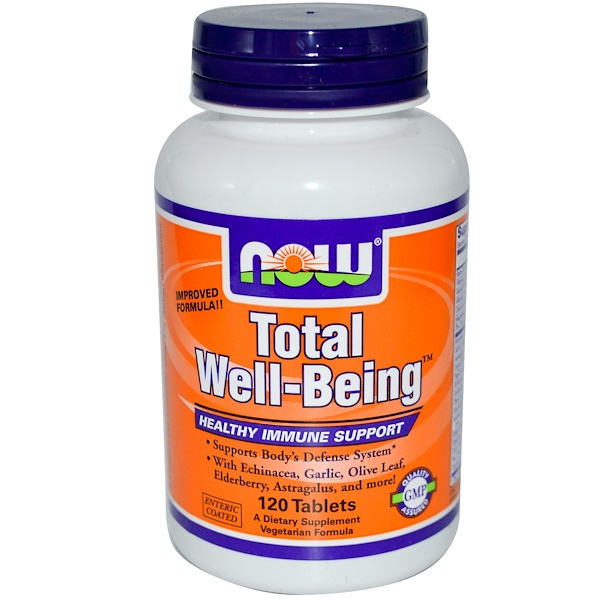 Now Foods, 抵抗力补充剂,120片 (Discontinued Item)