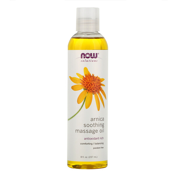 Solutions, Arnica Soothing Massage Oil, 8 fl oz (237 ml)