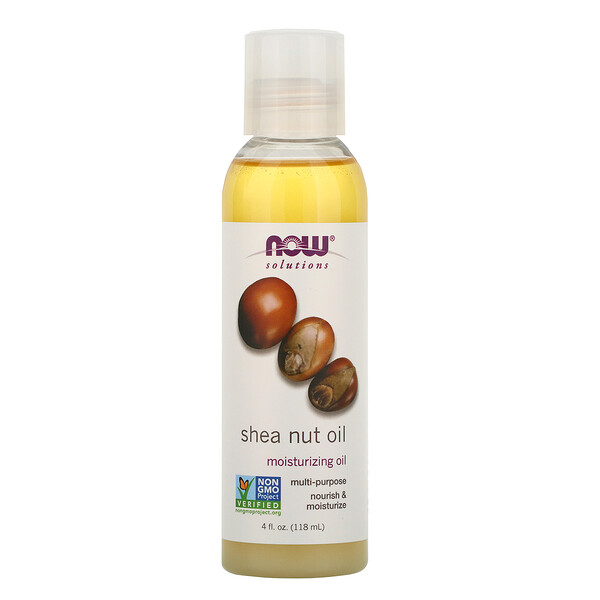 Now Foods, Solutions, Shea Nut Oil, 4 oz (118 ml)
