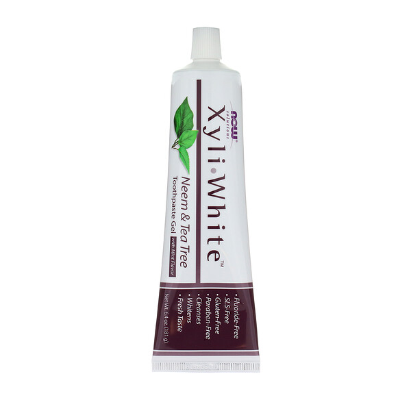Xyliwhite Toothpaste Gel, Neem & Tea Tree w/ Mint Flavor, 6.4 oz (181 g)