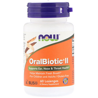 Now Foods, OralBiotic II,60 粒