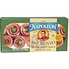 Napoleon Co., Anchovies, Rolled with Capers in Olive Oil, 2 oz (56 g) (Discontinued Item)