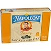 Napoleon Co., Fancy Smoked Mussels, 3.66 oz (106 g) (Discontinued Item)