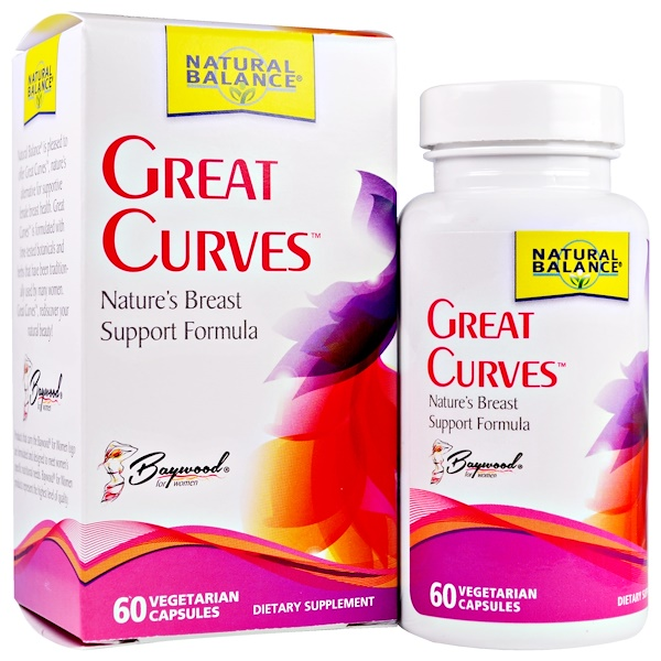 Great Curves, 60 Vegetarian Capsules