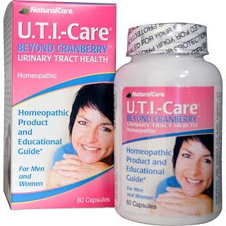Natural Care, U.T.I.-Care, Beyond Cranberry胶囊,60粒