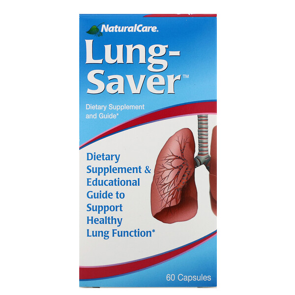 NaturalCare, Lung-Saver,60粒胶囊