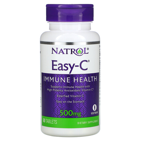 Easy-C, 500 mg, 60 Tablets