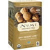 Numi Tea, Organic Tea, Herbal Teasans, Dry Desert Lime, Caffeine Free, 18 Tea Bags, 1.4 oz (39.6 g) Each