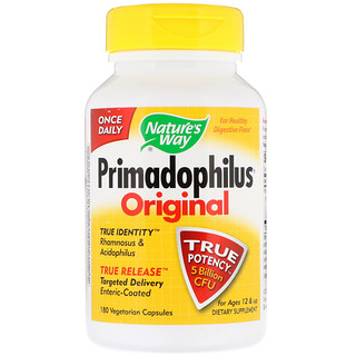 Nature's Way, Primadophilus, Original, Ages 12 & Up, 180 Vegetarian Capsules