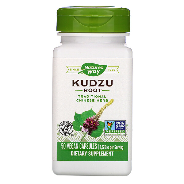 Nature's Way, Kudzu Root, 1,226 mg, 50 Vegan Capsules