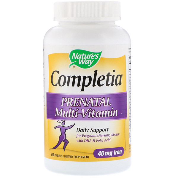 Nature's Way, Completia, Prenatal Multi-Vitamin, 240 Tablets