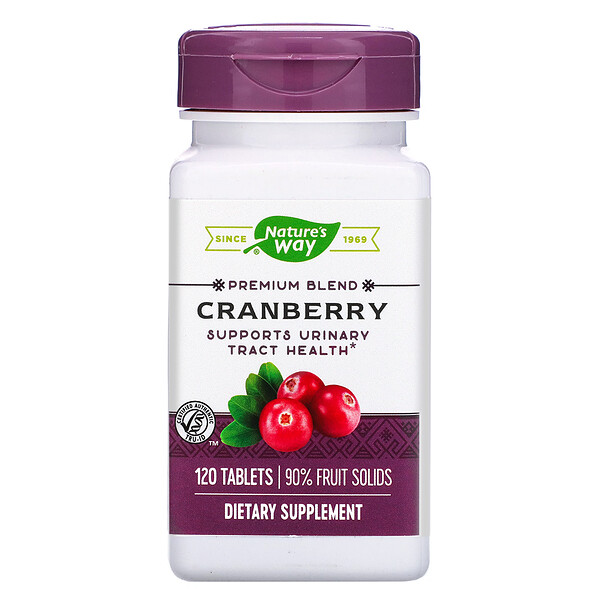 Nature's Way, Cranberry, 120 Tablets
