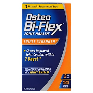 Osteo Bi-Flex, Joint Health Triple Strength, 120 Coated Tablets