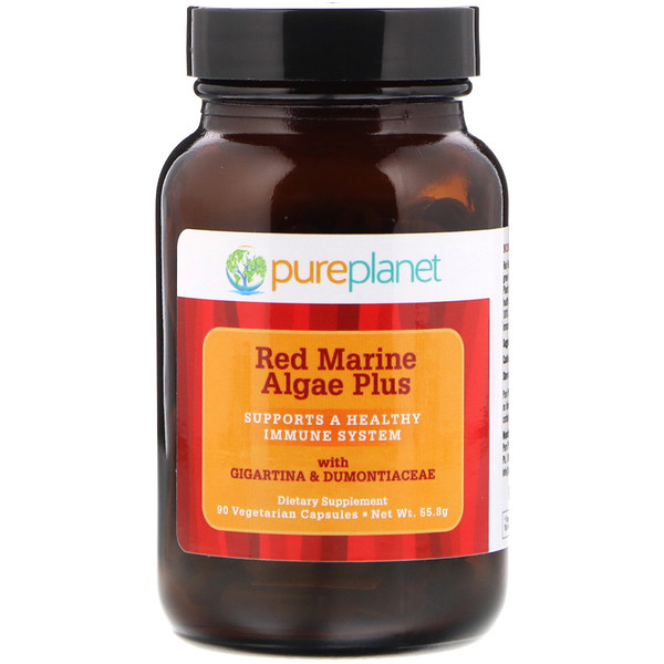 Red Marine Algae Plus, 90 Vegetarian Capsules