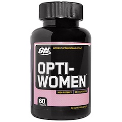 Optimum Nutrition, Opti-Women,营养优化系统,60 粒胶囊