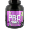 Optimum Nutrition, PRO GAINER, High-Protein Weight Gainer, Double Chocolate, 5.09 lbs (2.31 kg)
