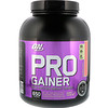 Optimum Nutrition, Pro Gainer,高蛋白增肌粉,草莓奶油,5.09 磅(2.31 千克)