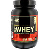 Optimum Nutrition, Gold Standard 全 Whey, Strawberry Banana, 2 lbs (907 g)