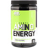 Optimum Nutrition, Essential Amino Energy, Green Apple, 0.6 lbs, 30 servings